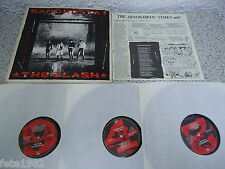 LP The Clash -  SANDINISTA 3 LP's + OIS 1980 Vinyl top