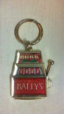 BALLY'S PARK PLACE GOLD TONE KEY KEYCHAIN CHARM FREE SHIPPING   R2T1