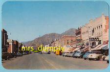 CO Canon City ~ BUSINESS District~ Main St. Looking West 1950s Cars ~COLORADO PC