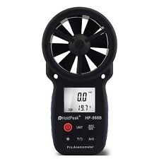 HoldPeak HP-866B Portable Digital Wind Speed Measuring Device Anemometer CXX