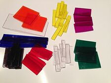 Used - Complete 51 Pieces - Overhead Fraction Factory Tiles - Homeschool