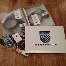 BMW Rheingold ISTA/D software +Certified ENET Cable & K+DCAN Kit BMW F&E Series