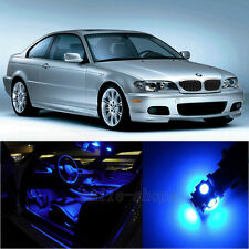 Blue 18X Interior LED Light Kit for BMW 3 Series E46 M3 sedan coupe 1999-2005