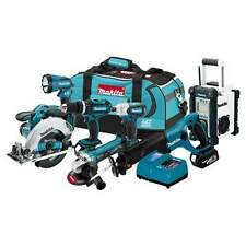 Makita XT702 18-Volt LXT Lithium-Ion Cordless 7-Piece Combo Kit w/ Radio