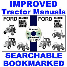 Ford 10 2610 3610 4110 4610 5610 6610 6710 7610 7710 Tractor Service Manual CD