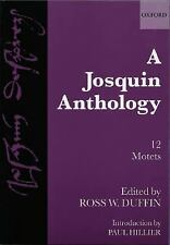 A Josquin Anthology (Church Music Collections), Duffin, Ross 0193532182