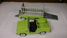 "VINTAGE NYLINT METAL FORD BRONCO  w/ TRAILER ""SAFARI HUNT"""