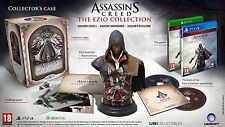 Assassins Creed The Ezio Collection Collectors Case PS4 NEW