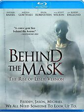 BEHIND THE MASK: THE RISE OF LESLIE VERNON - BLU RAY - Region A - Sealed