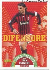 MALDINI # ITALIA AC.MILAN RARE UPDATE STICKER CALCIATORI 2008 PANINI TOP TEAM