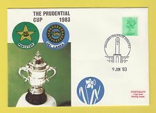 CRICKET - STAMP COVER - PRUDENTIAL CUP -  PAKISTAN  V  SRI  LANKA  -  1983