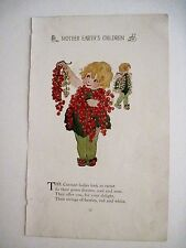 Mother Earth's Children Print w/Currant Ladies, Horseradish & Brussels Sprouts *