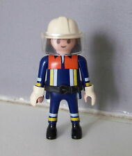PLAYMOBIL (G2210) POMPIERS - POMPIER en TENUE d'INTERVENTION 4819 4820 4821