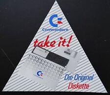 Aufkleber COMMODORE Computer Die Original-Diskette Floppy 80er Sticker