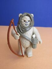 vintage COMPLETE star wars LUMAT EWOK ACTION FIGURE LAST 17 original bow 202