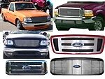 BIL-FO-56  Grille 1998-2004 FORD RANGER Replaces Entire Center Section