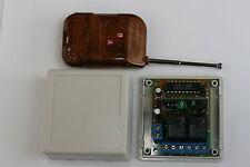 Interrupteur sans fil 2 canaux avec télécommande - DC