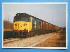 POSTCARD CLASS 50 LOCO NO 500 43 'EAGLE' HEADS FOR KEMBLE IN 1986