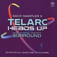 Telarc & Heads Up Sampler 5 [SACD] by Various Artists (CD, Jan-2005, Telarc Dist