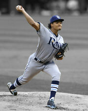 Tampa Bay Rays CHRIS ARCHER Glossy 8x10 Photo Baseball Print Spotlight Poster