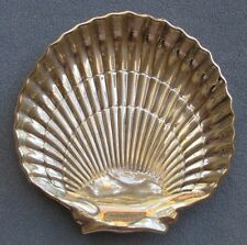 Gorham Sterling Silver Large & Heavy Footed Shell Serving Bowl or Tray