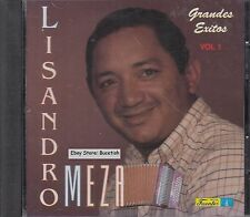 Lisandro Meza Grandes Exitos Vol 1 CD Nuevo Sealed