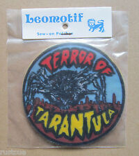 Terror Of Tarantula Vintage Leomotif Cloth Sew On Patch Badge Crafting Sewing