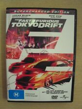 The Fast and the Furious Tokyo Drift Supercharged Edition R4 DVD Lucas Black