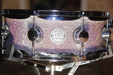 Swarovski Crystal DW Custom Snare Drum
