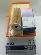 VW BORA 1.9 SDi 1.9TDi 1896cc Oil Air Filter Genuine Mahle Service Kit 1999-2005