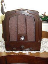 Vintage Bakelite Ekco Valve Radio m23