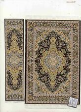 Rug Set  8MR  runner miniature dollhouse woven fabric carpet  2pc Turkish Rug