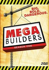 Mega Builders: Season 1 (DVD 2 disc) Discovery Channel NEW