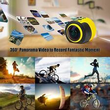 Detu Wifi HD1080P 360°Panorama Action Sports Camera VR Car DVR Camcorder R3D7