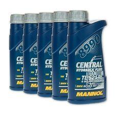 2,5 (5x0,5) Liter MANNOL 8990 Central Hydraulic Fluid Hydrauliköl / Servoöl