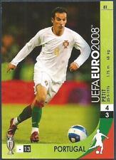 PANINI UEFA EURO 2008 TRADING CARD- #081-PORTUGAL-PETIT