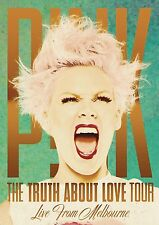 "P!NK - THE TRUTH ABOUT LOVE TOUR- ""LIVE"" IN MELBOURNE: DVD (2013)"