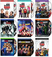 The Big Bang Theory DVD ALL Season 1-9 Complete DVD Set Collection Series TV Lot