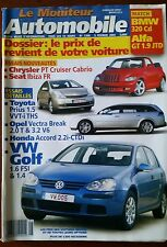 Le moniteur Automobile 5/02/2004; Match BMW 320 Cd/ Alfa GT 1.9 JTD/ VW Golf 1.6