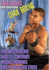 CHAIR AEROBICS FOR EVERYONE BOXING DVD SENIOR OR OLDER ADULT NEW EXERCISE