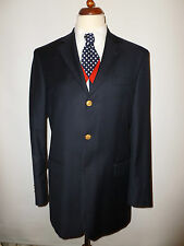 MENS MARK & SPRNCER PURE WOOL NAVY BLAZER -  SIZE UK 40L