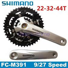 Shimano fc-m391 Acera 9 Velocità Mountain Bike Bicicletta Mtb Guarnitura 44-32-22t 170mm