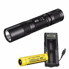 Nitecore MT1U 900mW UV Blacklight LED Flashlight w/ 3400mAh Batt & UM10 Charger