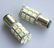 2x Bright White 1157 P21/4W Car 27 5050-SMD LED Stop Brake Bulbs Lamps Lights