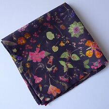 Floral Eve Liberty of London silk and cotton pocket square
