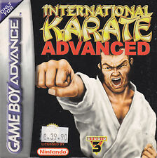 NINTENDO GAME BOY ADVANCE GBA INTERNATIONAL KARATE ADVANCED NUOVO
