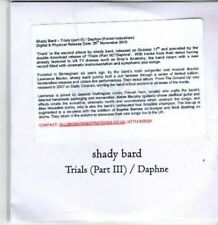 (BT213) Shady Bard, Trials - Part III - DJ CD