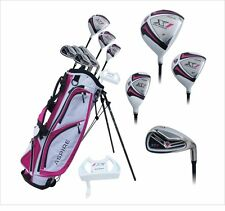 NEW X1 LADIES GOLF CLUB SET DRIVER HYBRID IRONS PUTTER WOMENS BAG RIGHT HAND