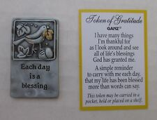 r Each day is a blessing TOKENS OF GRATITUDE ganz Thankful for God's Blessings
