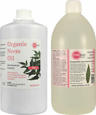 Organic Neem Oil & Horticultural Soap 1litre of each Plant Wash Insect Repellant